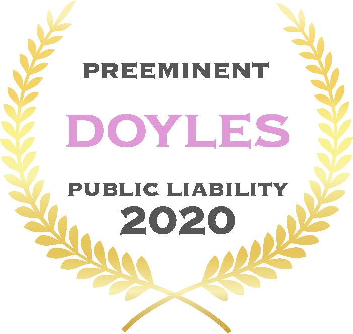 Preeminent - Doyles - Public Liability 2020