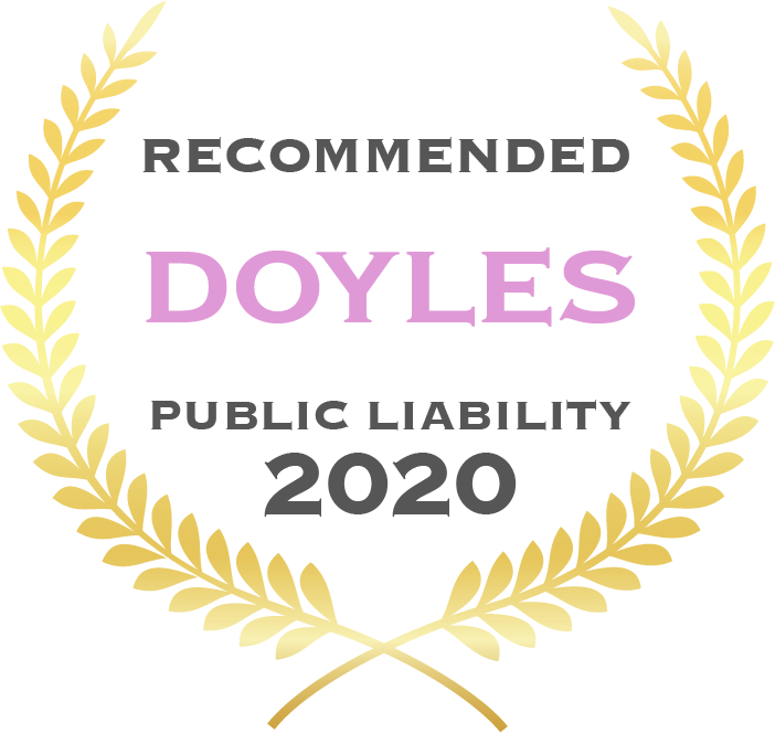 Recommended - Doyles - Public Liability 2020