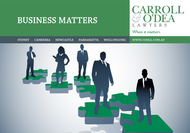Business Matters Newsletter - September 2012