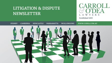Commercial and Litigation Newsletter - January 2015