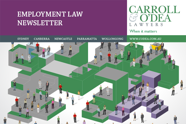 Employment Law Newsletter –  March 2016