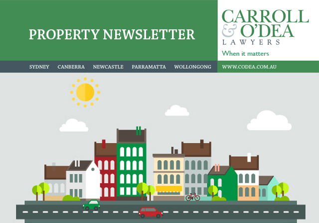Property Law Update - July 2009