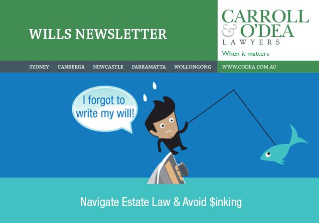 Estate Planning Newsletter - July 2015