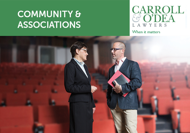 Community and Associations Newsletter - August 2018