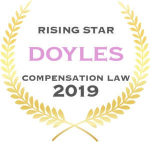 Rising Star - Doyles - Compensation Law 2019