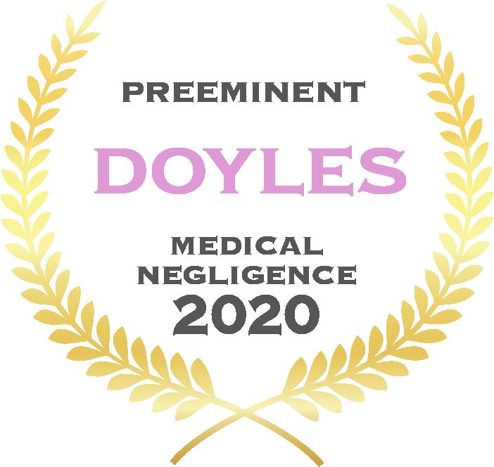 Preeminent - Doyles - Medical Negligence 2020
