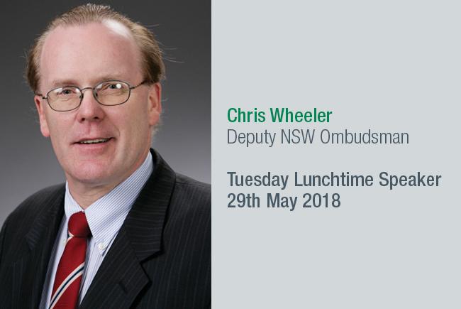 Chris Wheeler, Deputy NSW Ombudsman