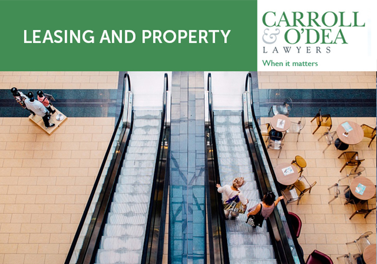 Leasing and Property Newsletter - April 2019