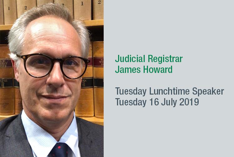 Judicial Registrar James Howard
