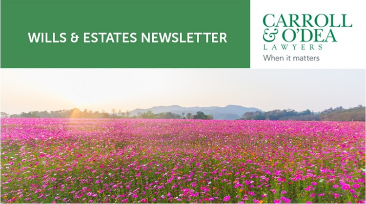 Wills & Estates Newsletter - August & September 2019