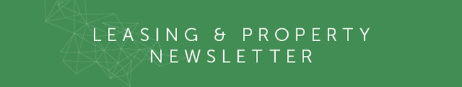 Leasing and Property Newsletter – June 2020