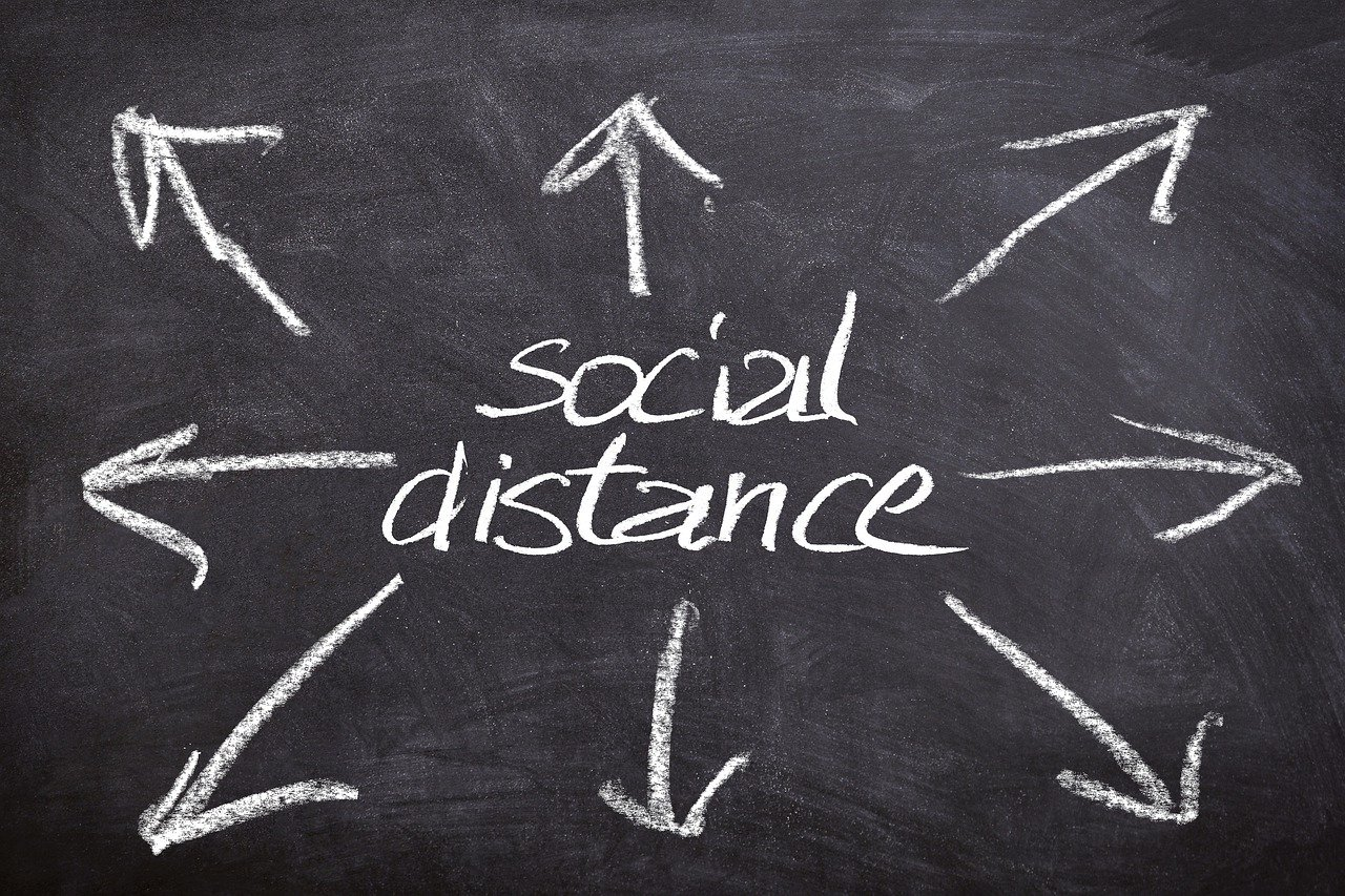 'Social Distancing', the new norm (for now at least)