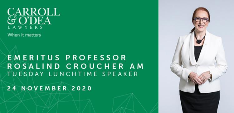 Emeritus Professor Rosalind Croucher AM