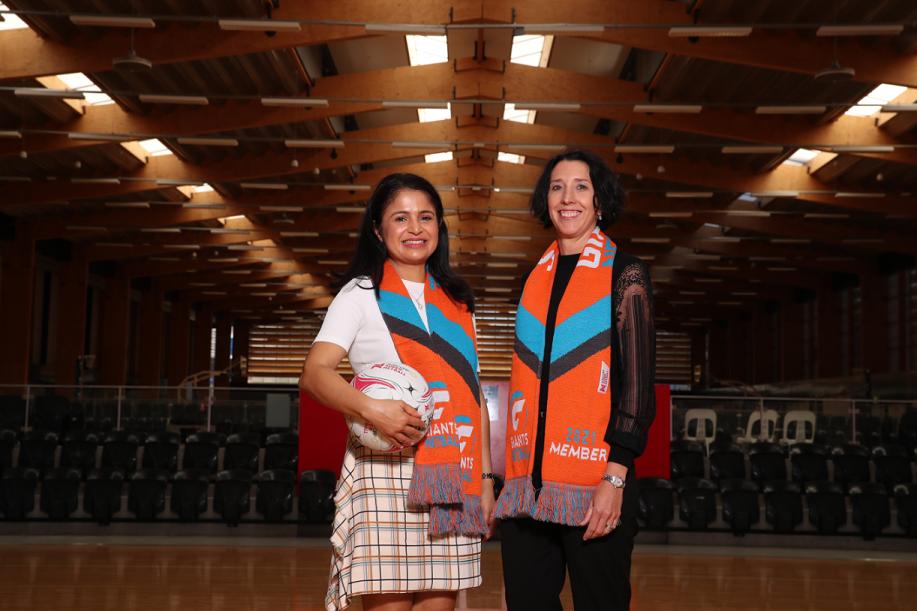 Carroll & O'Dea cements GIANTS Netball partnership